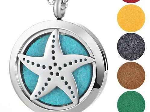Starfish Diffuser Necklace