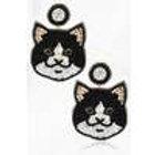 Cat Beaded Earrings