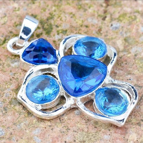 Blue Delight Necklace Pendant