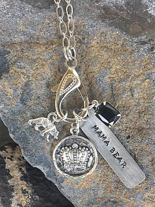 Mama Bear Treasure Necklace