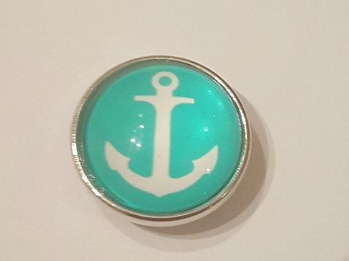 Mint Green Anchor Snap