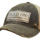 Hold On Let Me Overthink This Distressed Baseball Cap