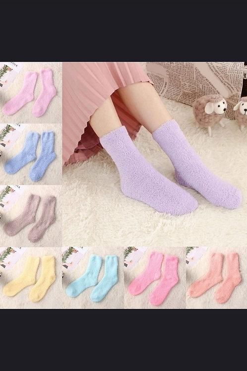 Soft Fuzzy Socks