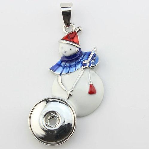 Snowman Necklace