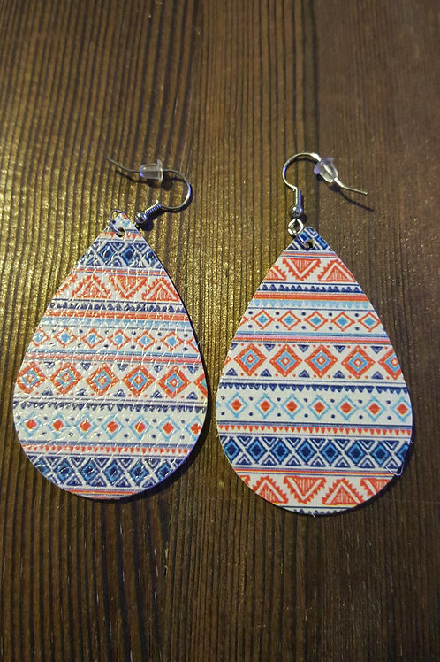 Pattern Earrings