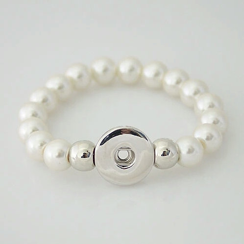 Pearl Beaded Stretch Bracelet