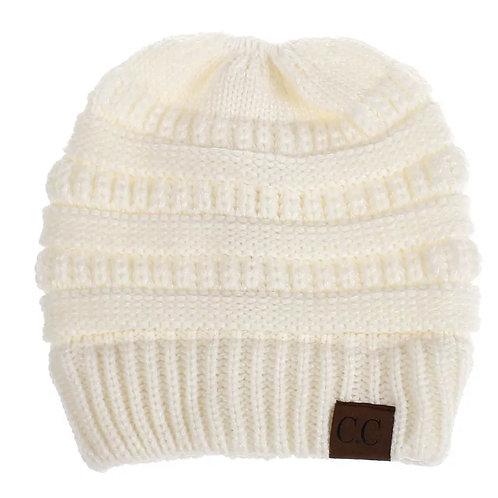 CC Ponytail Knit Hats