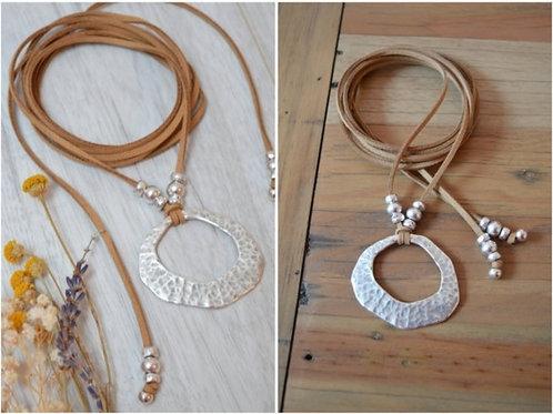 Hammered Necklace