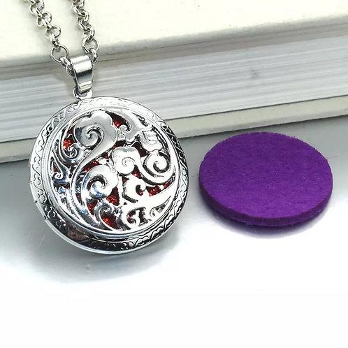 Swirl Diffuser Necklace