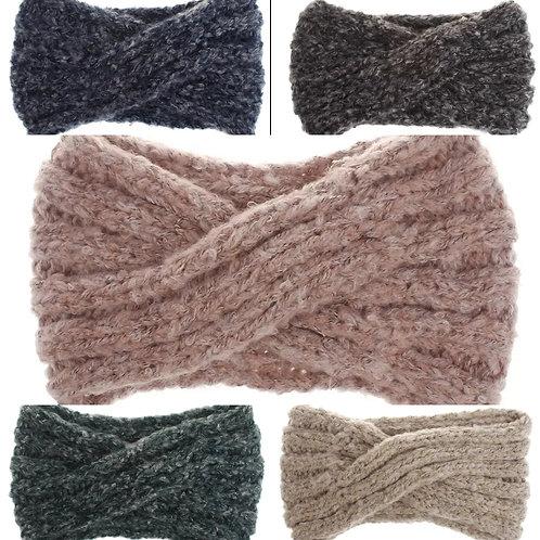 Swirl Knit Headband