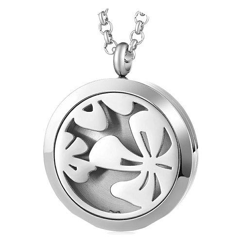 Floral Diffuser Necklace
