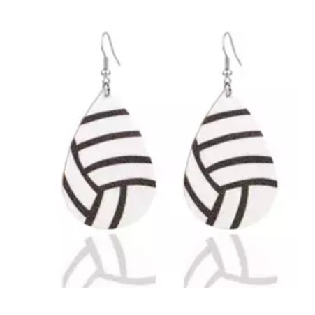 Volleyball Earrings