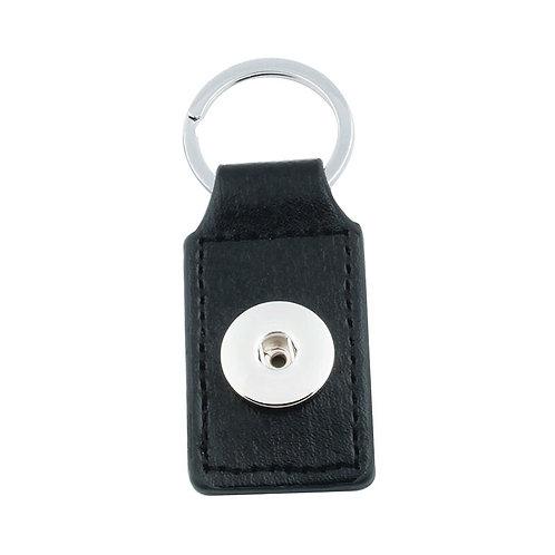 Black Leather Key Chain