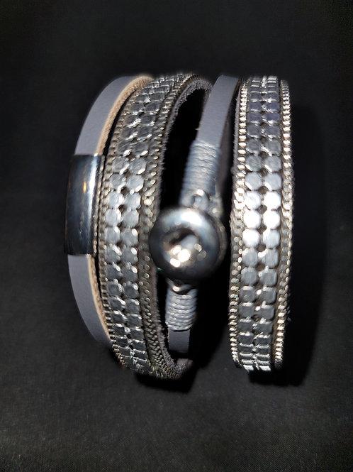 Mini Gray Bracelet