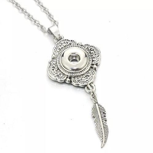 Feather Mini Necklace