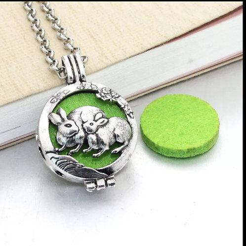 Bunny Diffuser Necklace