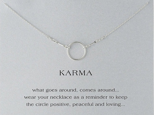 Karma Collarbone Necklace