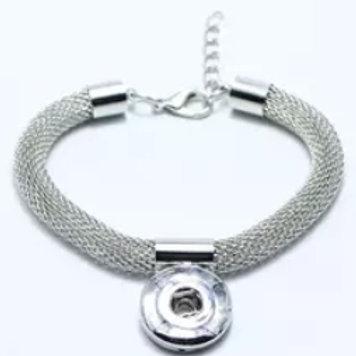 Mesh Snap Bracelet