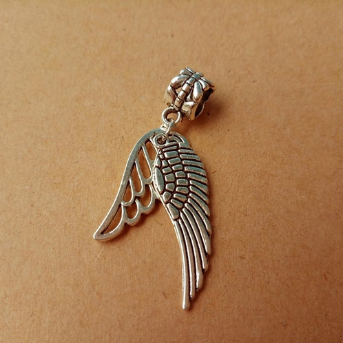 Angel Wing Bracelet or Necklace Charm