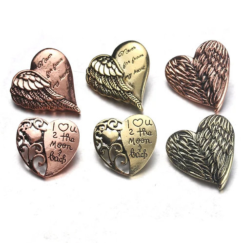 Heart Angel Wing Snap