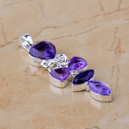 Purple Joy Pendant/Necklace