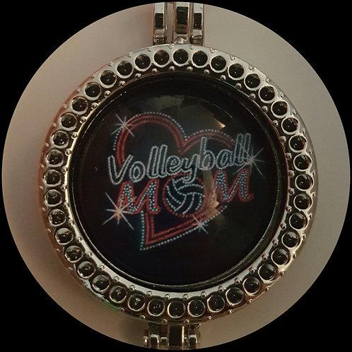 Volleyball Mom Coin Locket