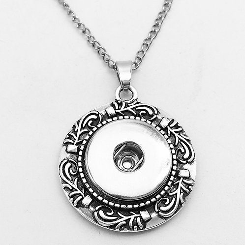 Round Decorative Necklace