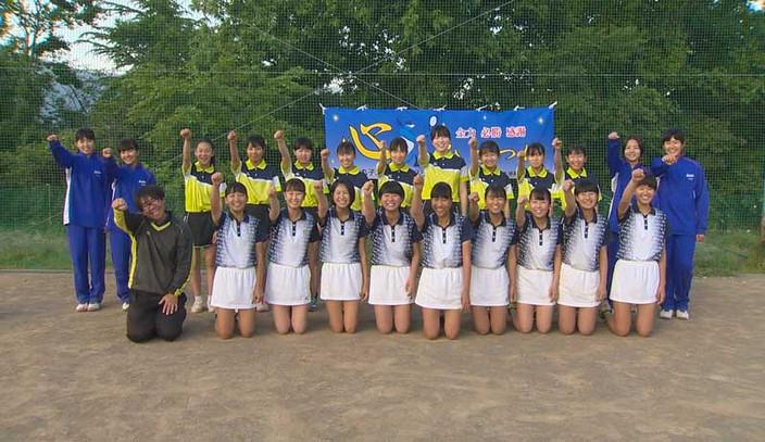 きらめきDAYS 6月は丸子北中学校女子ソフトテニス部を紹介します