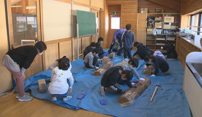 きらめきデイズ4月号は「令和2年度武石小学校5年敬組のベンチづくり」を放送します
