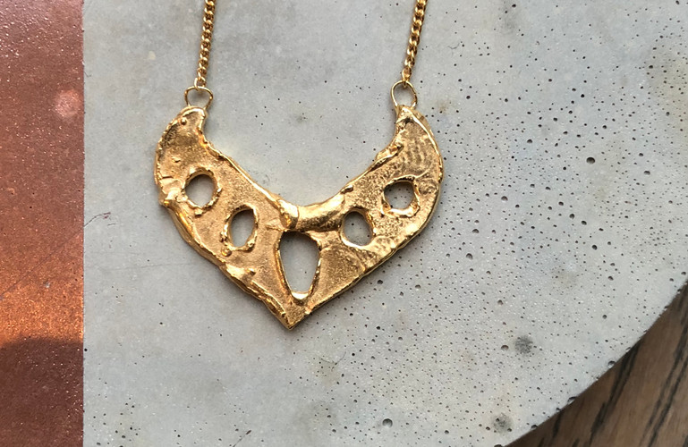 22K gold plated
