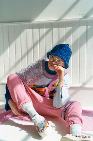 Hwa Knitwear - Lookbook for Schon Magazine