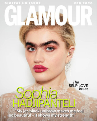 Glamour UK Digital Cover - The Self Love Issue