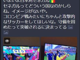 予選「日本VSセネガル」/ミッキーのサッカーW杯観戦記⑬