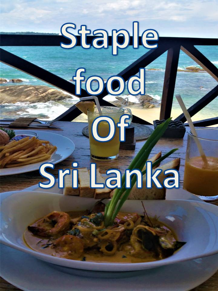Staple food of Sri Lanka