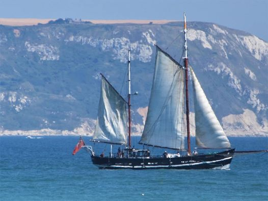 Moonfleet Sailing by White Nothe taken b