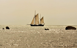 Moonfleet Sailing in Mupe Bay taken by S