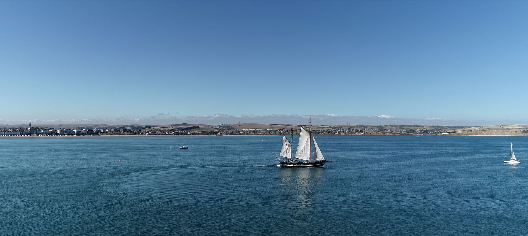 Moonfleet Sailing in Weymouth taken by L