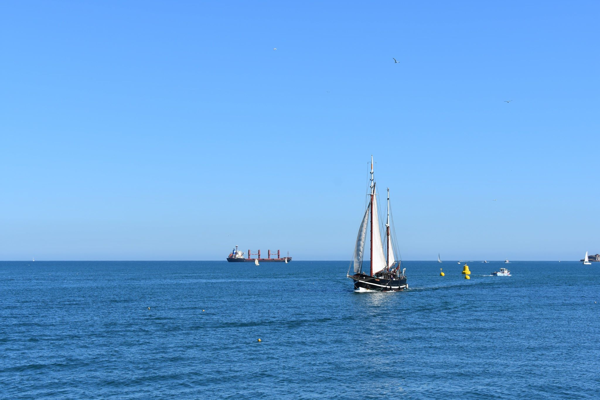 Moonfleet Sailing in Weymouth by Lisa Sk