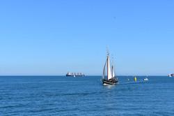 Moonfleet Sailing in Weymouth by Lisa Sk