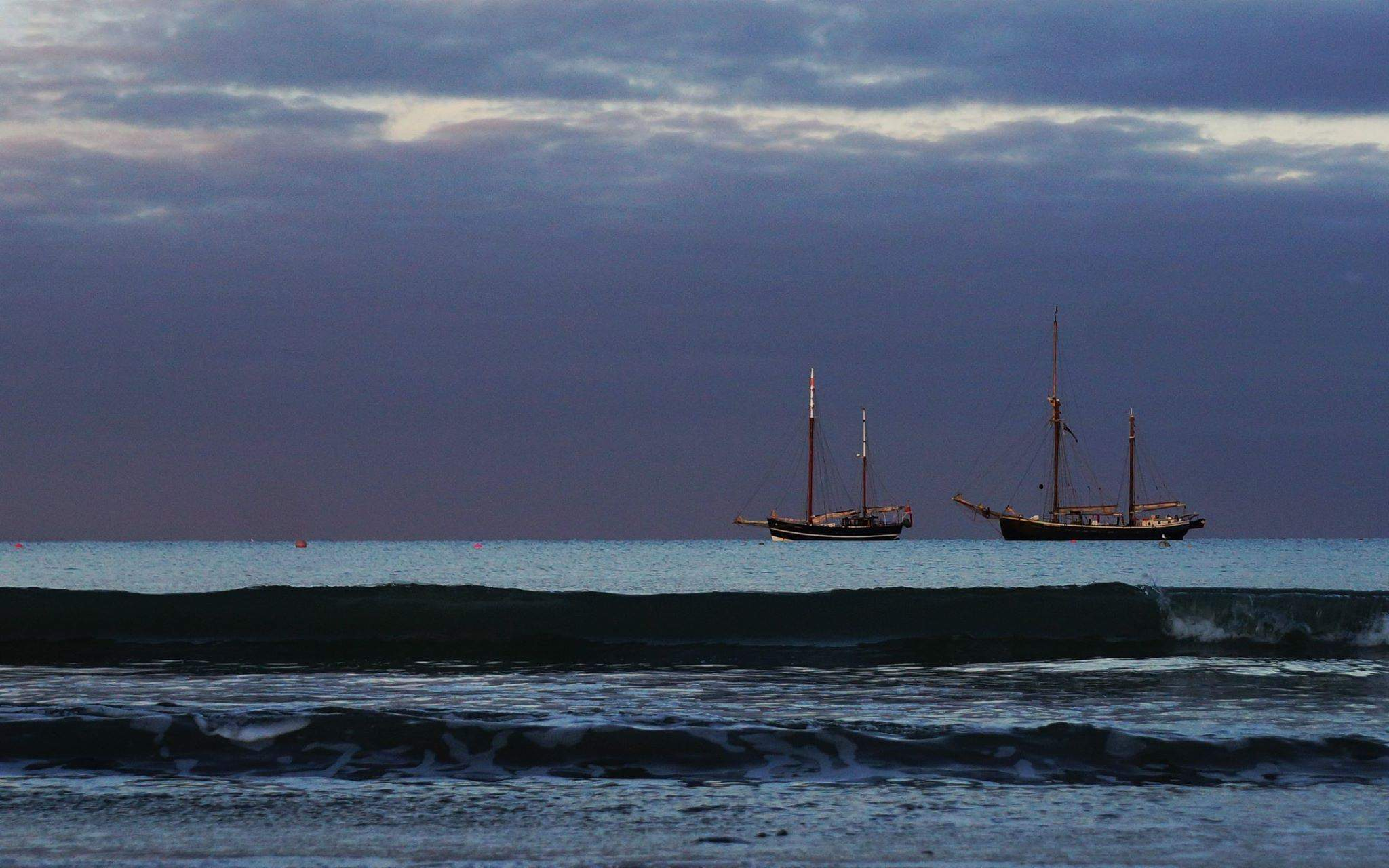 Moonfleet Sailing by Purbeck Footprints