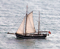 Moonfleet Sailing by Tim Healy  taken al