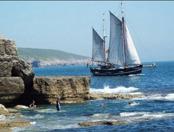 Moonfleet Sailing at Jurassic Coast take