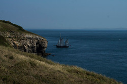Moonfleet Sailing in Purbeck by Purbeck