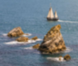 Moonfleet Sailing at Mupe Rocks taken by