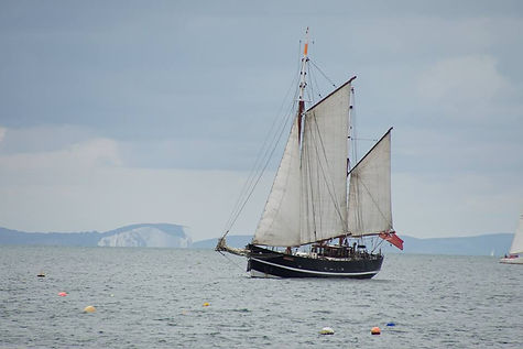 Moonfleet Sailing in Weymouth Bay