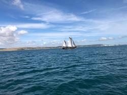 Moonfleet Sailing in Weymouth taken by J