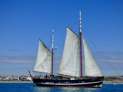 Moonfleet Sailing in Weymouth Bay taken