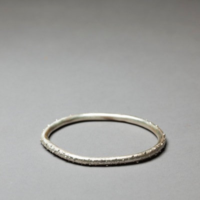 Speckled Thick Bangle