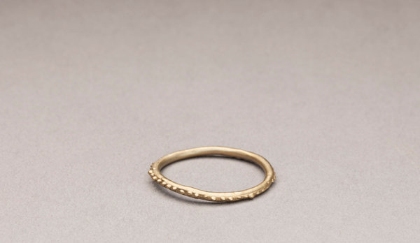 Line of Dots Ring