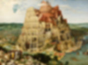 Bruegel Tower of Babel Landscapes Imagin